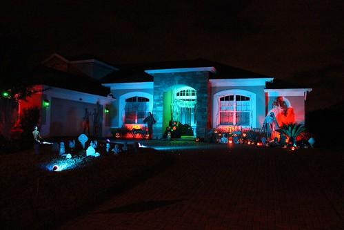 Full Halloween house