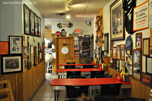 Dining Area at Wildwood Pizza ~ Willernie, MN