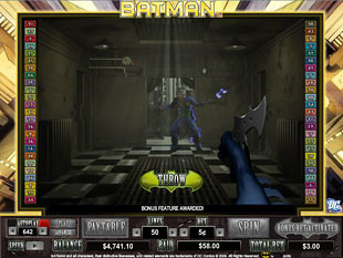 Batman bonus game