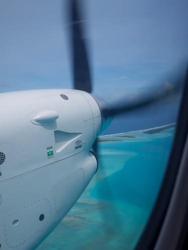 Leaving Aitutaki