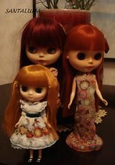 Matilda com Aisha e Valenine!!
