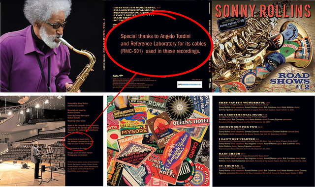 "Sonny Rollins ""Road Show vol2"" (cover & special thanks)"