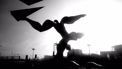 #photo -extremly cool airport #art yes! #visitnorway ( alt; #extrem_big_paper_plane ) by Mobilephotos@heidenstrom