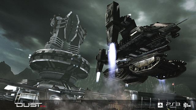 Rapid Deployment Vehicle (RDV) for DUST 514 for PS3 (PSN)