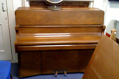Miss Witheridge's piano