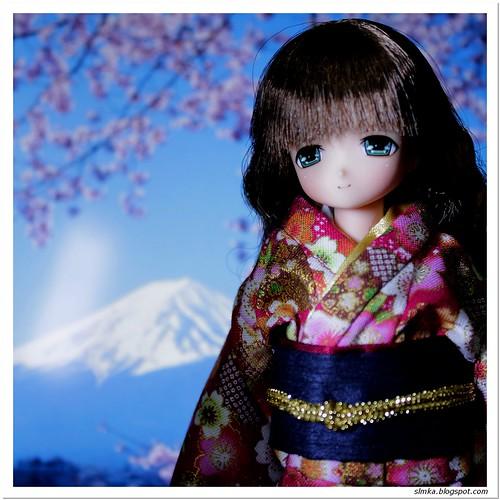 Mia's Kimono First Shoot
