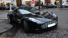 One-77 1/3 (alexsmolik) Tags: auto plaza paris cars car automobile martin vehicle avenue rare exclusive supercar aston astonmartin supercars montaigne avenuemontaigne exception athne one77 plazaathne astonmartinone77 amone77