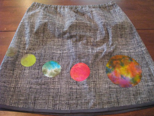 Fabric of the Cosmos Skirt - front