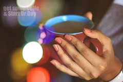 *, Get Some Coffe & Start Ur Day ,* (SnAfeeR) Tags: morning girls light food sun cute love robert colors girl smile lady canon lens hope star model hands colours peace hand heart bokeh dream picture pic calm lovely coffe   colooors  samaher