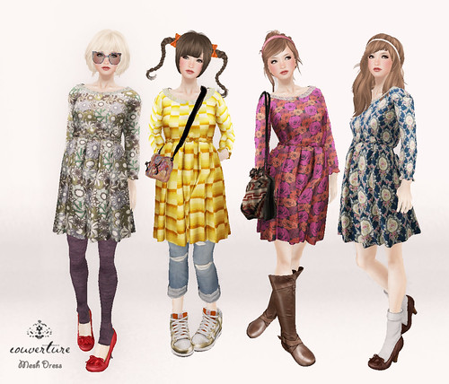 couverture - Vintage one-piece  *mesh* for Vintage  Fair  2011