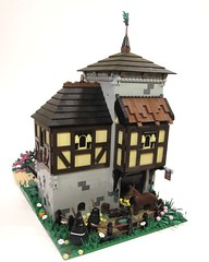 CCCIX - The Monks of Saint Judas (vdubguy67') Tags: city house tree castle classic church village lego fort farm contest monk knight bandit colossal ton robber moc afol