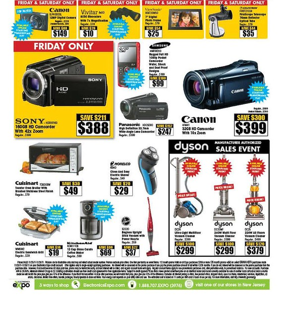 Electronics Expo Black Friday 2011 Ad Scan - Page 11