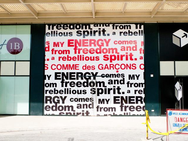 Comme des Garçons will open in Rockwell