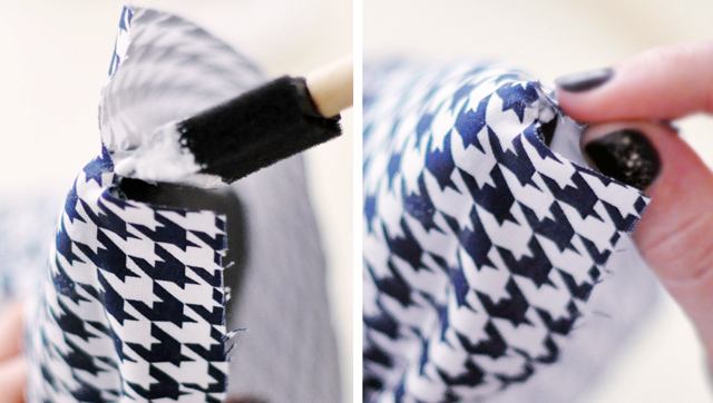 Houndstooth Shoes DIY - 14-1