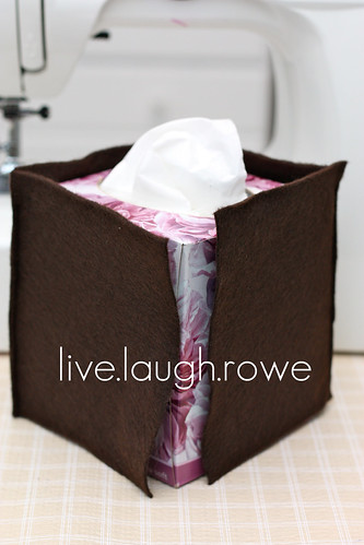 felt tissue box cover_check to be sure its fitting