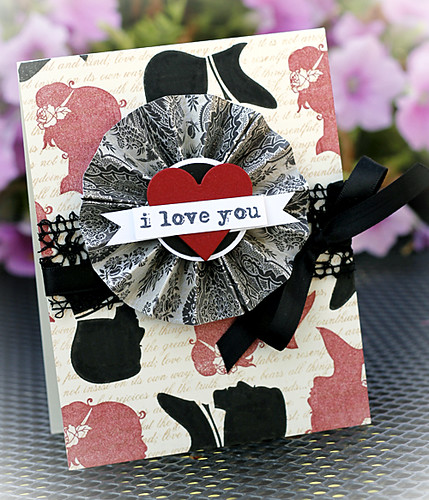 Silhouettes Love Card