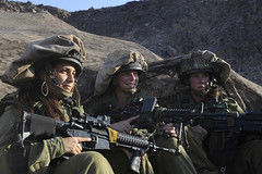 The Life of Female Field Intelligence Combat S...