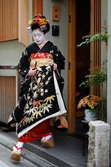 (Tamayura) Tags: nov japan nikon kyoto maiko kansai d3 debut miyagawacho 2011 misedashi 2470mmf28g 201111091346553