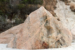 Stony Creek Granite Gneiss (sandy richard) Tags: longisland beaches wildwood wildwoodstatepark sandyrichard sandrarichard