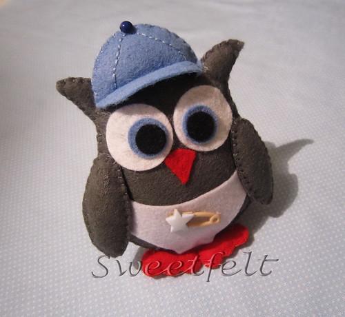♥♥♥ Mochinho bebé... by sweetfelt \ ideias em feltro