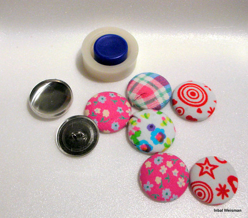 scraps covered buttons