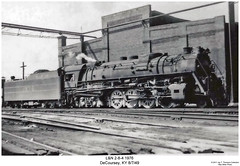 Big Emma (Robert W. Thomson) Tags: railroad train m1 kentucky railway trains steam locomotive trainengine steamengine ln 284 bigemma louisvillenashville decoursey