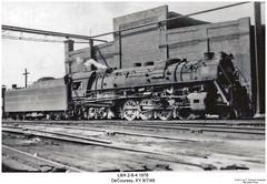 Big Emma (Robert W. Thomson) Tags: railroad train m1 kentucky railway trains steam locomotive trainengine steamengine ln 284 bigemma louisvillenashville decoursey