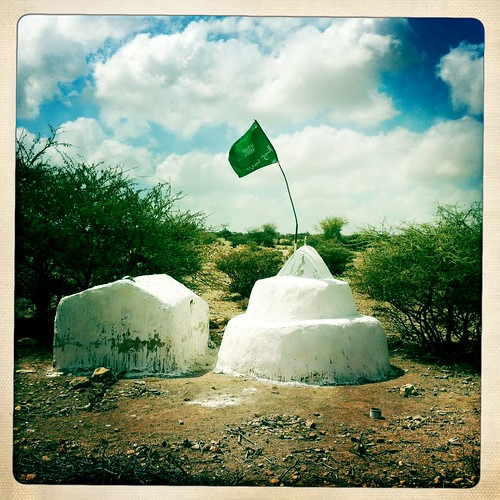 Grave near Hargeisa Somaliland  thru Iphone Hipstamatic