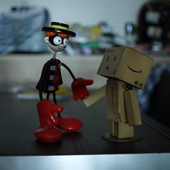 Danbo & friend (noidcanuse2011) Tags: toys gf2 danboard