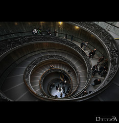 Architectures I (DeLima) Tags: arquitetura spiral italia vaticano staircase scala escada espiral arquitecture barroco delima