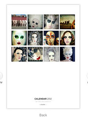 mannequin calendar (buckaroo kid) Tags: uk england london mannequin dummies calendar display photos makeup londonist redbubble mannequinmakeup