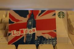 365 - 2011 - Day 333 (Mark Brocklehurst) Tags: november london coffee canon eos card starbucks drinks 365 latte 500d 2011 project365 365days