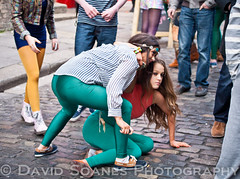 St Patrick's Day 2012 in Temple Bar (DavidSoanes) Tags: ireland people dublin colour festival bar drunk temple march crazy day tourist patricks 17th 2012 crowded paddys