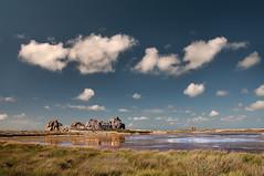 Castel Meur (Tony N.) Tags: sky house france clouds rocks ciel nuages maison rochers castelmeur aligned plougrescant align nikkor175528
