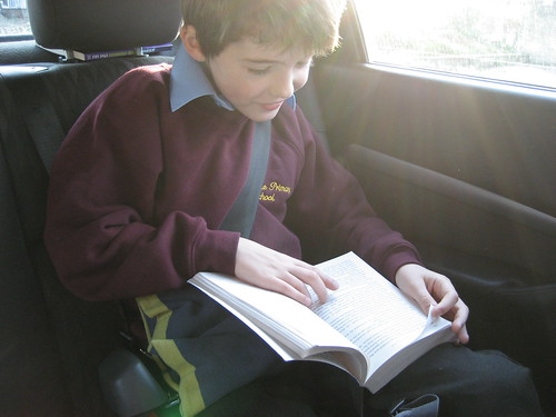Cam reading in the car