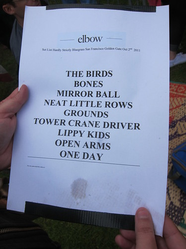Elbow, Oct. 2, 2011