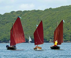 "Three Luggers on the Cleddau River • <a style=""font-size:0.8em;"" href=""http://www.flickr.com/photos/36398778@N08/6214447944/"" target=""_blank"">View on Flickr</a>"