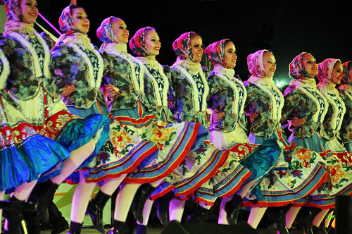 Russian Dancers....Choenan World Dance Festival