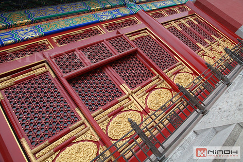The forbiden city doors- Beijing 2