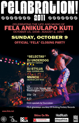 Felabration Closing 10/9/11