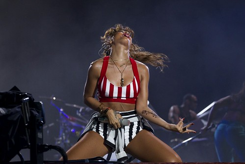 Rihanna Rio Music Festival Concert pictures