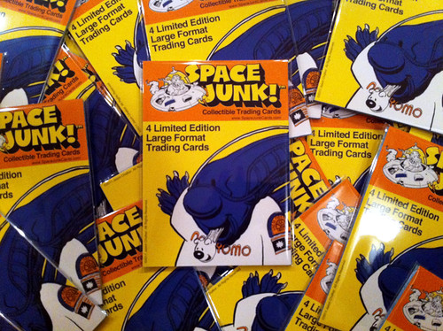 Space Junk™ Trading Cards- Preview Set by Manly Art