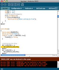 Sprinter Firmware Compiling Error (ccotter247) Tags: mendel sprinter kliment prusa reprap makerbot