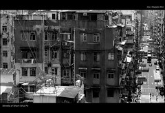 Streets of Sham Shui Po (Explored) (Chez C.) Tags: street city urban abstract architecture pen design interesting olympus explore shamshuipo f3556 1442mm epl2