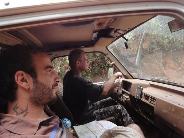 Tarmo e Joao na Africa Central