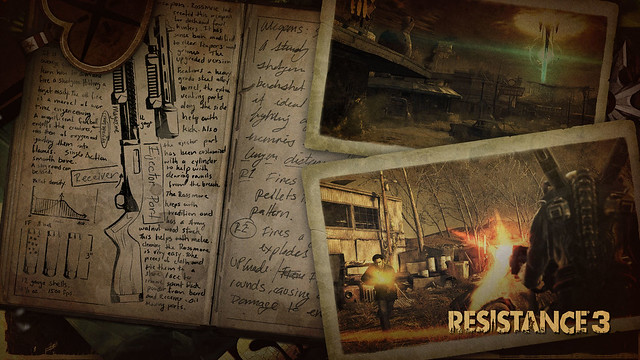 Resistance 3: Survivor Pack: Static Theme