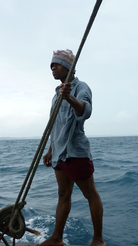 Dhow crewman