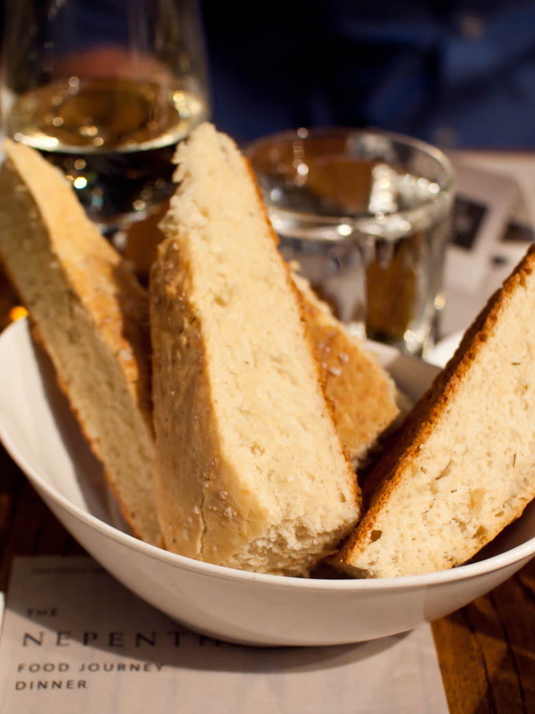 Nepenthe Wine Food Journey - Solarino bread