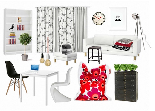 moodboard living room 2