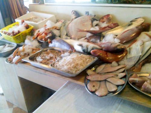 Vitrina de pescados